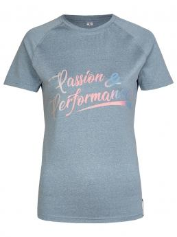 Busse Tshirt Passion&Performance light grey
