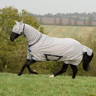 Derka Freedom Fly Sheet Full Neck silver